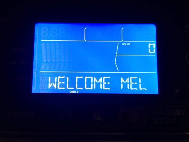 Day 3 Treadmill Welcome